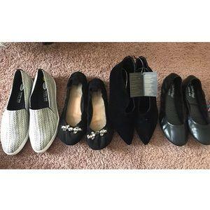 Black Shoes Size 9 Bundle